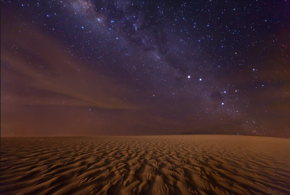 Stars and sand