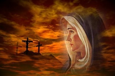 Woman at the cross