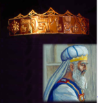 Priest Golden plate and turban