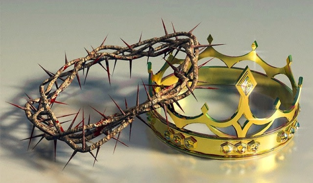 Christ's two crowns