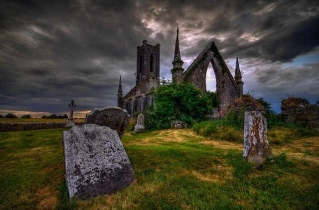 Church in ruins